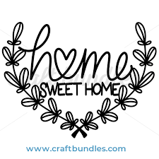 Are you searching for home sweet home png images or vector? Free Home Sweet Home Svg Cut File Free Pretty Things For You
