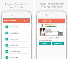 Version Download Id generator 6 Latest For Fakeid 0- Maker maker Fake Card India Apk