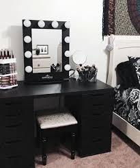 black makeup vanity with drawers. black is not that bad after all! makeup vanity with drawers y