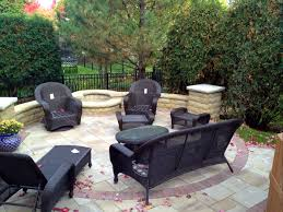 deck patio with fire pit. Gas Starter Fire Pit By Archadeck Of Chicagoland Deck Patio With