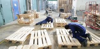 turning pallets into furniture. Refugees In Munich: Turning Pallets Into Furniture N