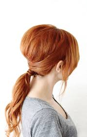Hair Style Simple crisscross ponytail a beautiful mess 2962 by wearticles.com