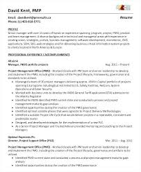 Business Management Resume Example Resume Sample Project Management ...