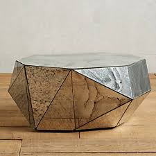 drum coffee table. Mirrored Geod Coffee Table. Item: Drum Table