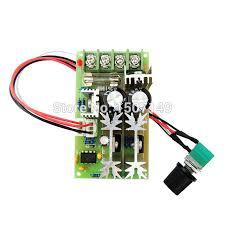 pwm dc motor speed controller v v v vdc a w pwm dc motor speed controller 12v 24v 36v 48vdc 20a 500w adjustable speed regulator potentiometer