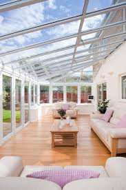 Modern Conservatory Furniture Custom Inside View Of A UPVC Conservatory From Everest Garden Ideas In