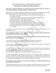 Incident Report In Word And Pdf Formats Page 3 Of 6
