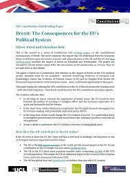 unit publishes new briefing paper on brexit and its consequences  briefing paper 2