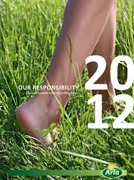 csr reports arla our responsibility report 2012