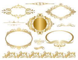 gold frame border png. Perfect Border And Gold Frame Border Png G