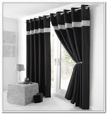 Simple Black And White Curtains Exterior Inside Inspiration Decorating
