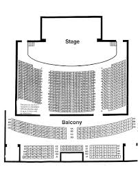 Seating Maps Kiwanis Theatre Chatham Kent