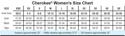 Cherokee Workwear Womens Cargo 4200 Pull On Scrub Pant Many Colors Xs 5x Regular Tall Ultra Tall Which Is Unhemmed Or Petite
