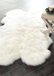 obsessing over this white faux sheepskin rug that goes perfect in a baby room living as rustic and elegant nursery project sheepskin rug