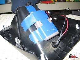 final step is to tape or glue the garage door opener device to the back of that panel install the panel back in your car and you re done