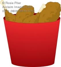 bucket of fried chicken clipart. Intended Bucket Of Fried Chicken Clipart