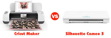 Silhouette Cameo Comparison Chart Cricut Maker Vs Silhouette Cameo 3 Which Is The Best
