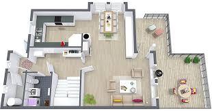 floor plan 3d. 3D Floor Plan Ground 3d