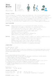 Graduate Nursing Resume Examples Adorable New Nurse Resume Template New Resume Sample To Resume Sample New