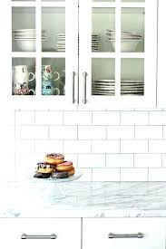 white subway tile with gray grout kitchen catchy white subway tiles best ideas about