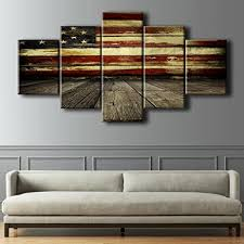 stunning design ideas vintage american flag wall art designing inspiration amazon com wooden pictures for living room canvas print retro modern painting  on painted wood american flag wall art with stunning design ideas vintage american flag wall art designing