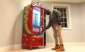 Create The Rainbow Skittles Vending Machine Mesmerizing BREAKING THE INTERNET SINCE 48 AKA Media Inc
