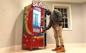 Skittle Vending Machine Custom BREAKING THE INTERNET SINCE 48 AKA Media Inc