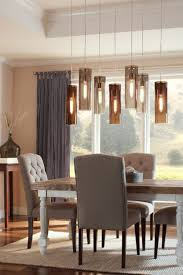 astonishing bright home interior design with ergonomic grey chairs and low hanging ceiling lights dining above table light over lamp hangers lighting
