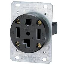leviton 30 amp industrial flush mount shallow single outlet, black leviton plug chart at 250 Volt Plug Wiring For Leviton