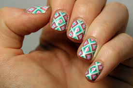 65 Most Stylish Geometric Nail Art Design Ideas