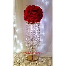 chandeliers candle chandelier centerpiece centerpieces wedding crystal candelabra holder with flower vase set of candle chandelier