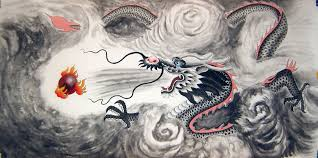 chinese dragon paintings the legend of the dragon