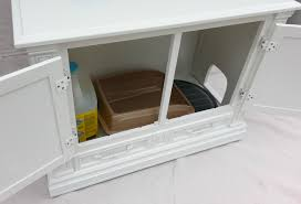 Wooden Litter Box Cabinets Cat Litter Box Furniture Ikea Homesfeed