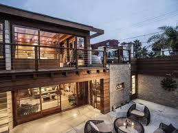 Eligant Wooden Homes Exterior Ideas  Penaime - High end exterior doors