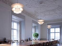 mid century modern scandinavian pendant lamp ph 5 4½ charlottenborg by poul henningsen for louis poulsen