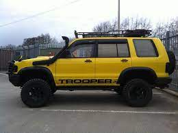 Isuzutrooper Is Nicely Equipped Priced Affordable Trooper Overland Vehicles Dream Cars