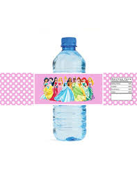 Decorating Water Bottles For Baby Shower Lovely Princess Baby Shower Personalised Stickers Personalized 94