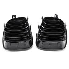 <b>a pair</b> of abs gloss black <b>front kidney</b> grille for bmw e87 1 series 08 ...