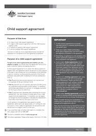 Child Support Agreement Between Parents Form - Free Printable ... Child Support Agreement - PDF