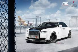rolls royce wraith white with black rims. black and white rollsroyce ghost by mc customs rolls royce wraith with rims