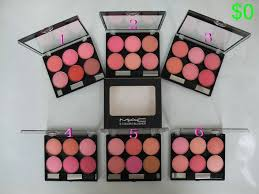 6 color mac blusher mac makeup with whole s from mac cosmetics outlet