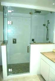 half shower door pictures of s doors large sealant place half shower door doors lynbrook
