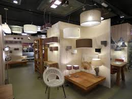 Tafellamp Showroom Winkel Interieur Verlichting Landelijk