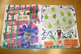 turn an old book into an art journal