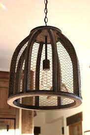 wooden wine barrel stave chandelier glass globe wine barrel stave light