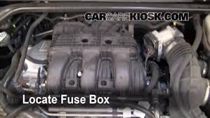 replace a fuse 2010 2017 ford taurus 2011 ford taurus sel 3 5l v6 locate engine fuse box and remove cover