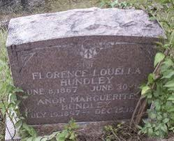 Florence Louella Pugh Hundley (1867-1904) - Find A Grave Memorial
