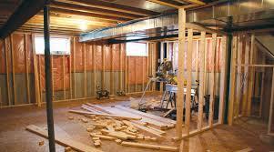 refinish basement