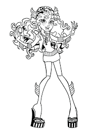 monster high color pages printable monster high coloring pages monster high coloring pages print monster high