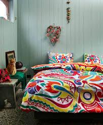 bright coloured bed linen  bedding queen